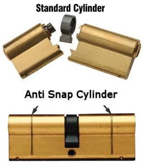 anti-snap cylinder comparison