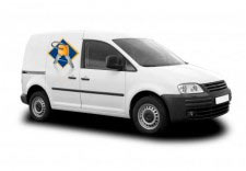 Emergency locksmith van